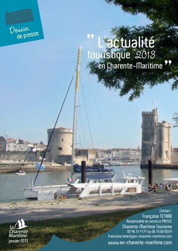Dossier de presse 2013 Charente-Maritime - Le site dédié aux ...