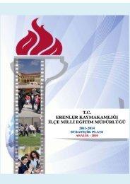Erenler İlçe Milli Eğitim Müdürlüğü 2011 – 2014