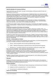 BlackBerry® Professional Software - Dieter Schirmer, EDV-Beratung