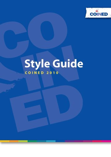 Style Guide - Coined