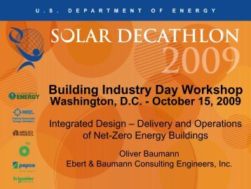 Integrated Design: Delivery and Operations of net ... - Solar Decathlon