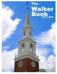 Walker Book 2013-2014 - The Ethel Walker School