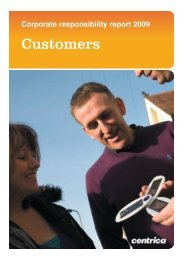 Customers - Centrica