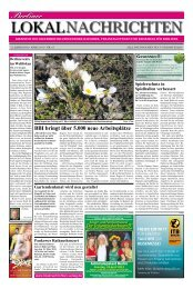 Schluss mit Allergien und Heuschnupfen! - Berliner Lokalnachrichten