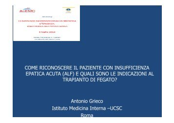 insufficienza epatica acuta - Acemc.it