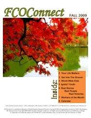 Jul-Aug-Sep 09 Newsletter - Faith Christian Outreach Church