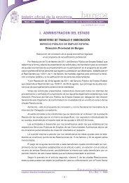 Anuncio 201107528 - Boletín Oficial de la Provincia de Burgos