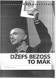 Skenēta inervija ar Amazon vadītāju Džefu Bezosu (Forbes ... - VATP