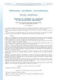 Décrets, arrêtés, circulaires - Les services de l'État dans le Val-d'Oise