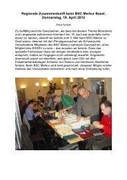 Bericht der Zusammenkunft mit Fotos