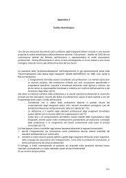 Appendice 3 Codice deontologico Uno dei più ... - DIDAweb