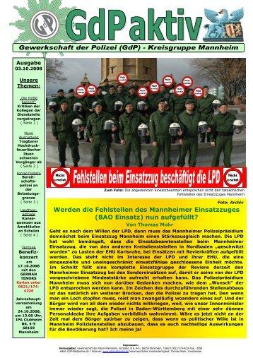 GdP aktiv Ausgabe 03-10-2008 - Uli Sckerl