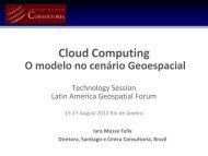 Apresentação do PowerPoint - Latin America Geospatial Forum