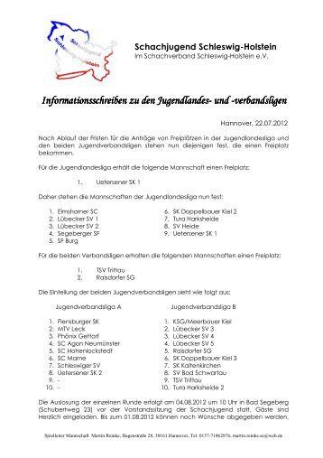 Einteilung der Ligen und Informationen zur Saison 2012-2013