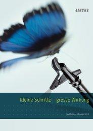 Nachhaltigkeitsbericht 2012 - Rieter