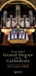 Grand Orgue Cathédrale - Cirm