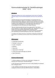 Kommunikationsstrategi för Teknikförvaltningen 2008 ... - Enköping