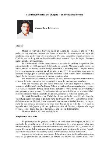 Cuadricentenario del Quijote – una senda de lectura - Revista ...