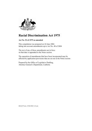 sexual racial discrimination Below is a list of federal laws that prohibit discrimination based on race in a number of settings, and links to the full texts of those laws (note: many states.