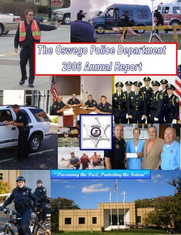 2006 Annual Report - Oswego Police Department