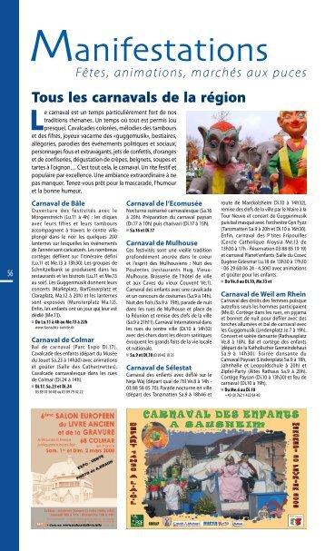 Tous les carnavals de la région - JDS.fr