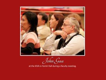 John Gaa - College of Education