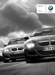 BMW Price List February 2010 M5 Sedan M6 ... - BMW South Africa