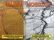 přednáška 11 - Katedra archeologie