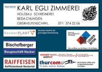 Programmflyer (PDF) - Musikgesellschaft Oberhelfenschwil