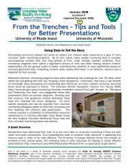 From the Trenches – Tips and Tools for Better Presentations