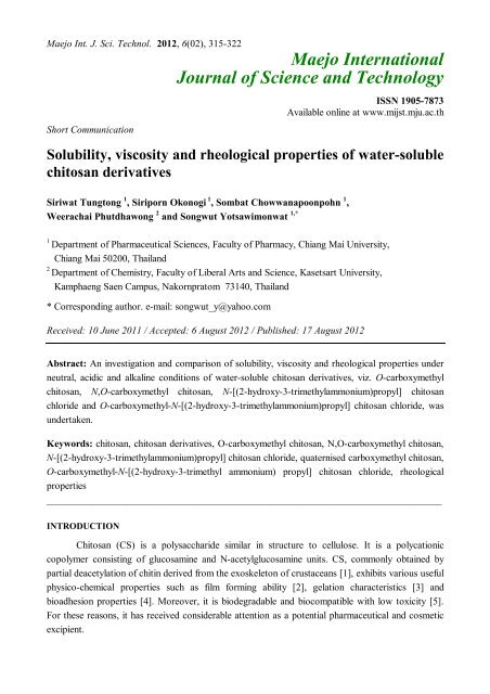 what are the six properties of water