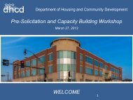 Final Pre-Solicitation and Capacity Building Workshop