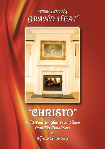 Christo Slow Combustion Heating Brochure - Wise Living Products