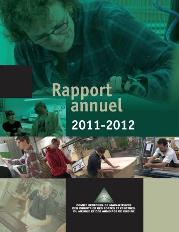 Rapport annuel 2011-2012 - Clicemplois.net