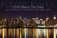 2010 Black Tie Gala - Englewood Hospital and Medical Center