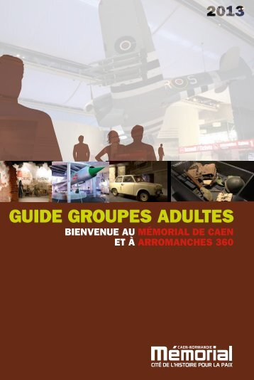 GUIDE GROUPES ADULTES - TravelPeople