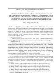 dėl švietimo ir mokslo ministro 2007 m. vasario 7 d. įsakymo nr. isak ...