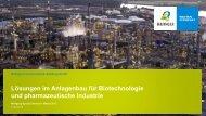 Lösungen im Anlagenbau für die Biotechnologie und ... - Bilfinger