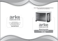 MANUAL FORNO 42L.CDR - Arke