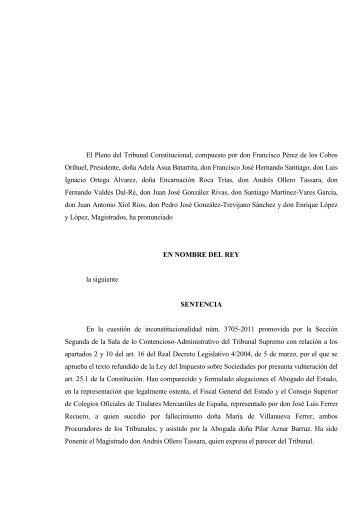 texto de la sentencia - Fiscal impuestos