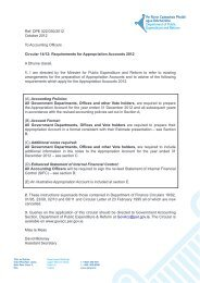 Circular 14/2012 - Government Accounting - Department of Public ...