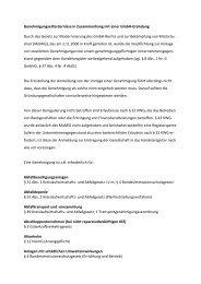 Genehmigungserfordernisse in Zusammenhang mit ... - Notarkammer