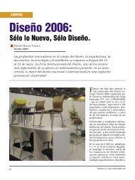 Eventos Diseño 2006 - Revista El Mueble y La Madera
