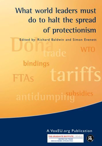 What world leaders must do to halt the spread of protectionism