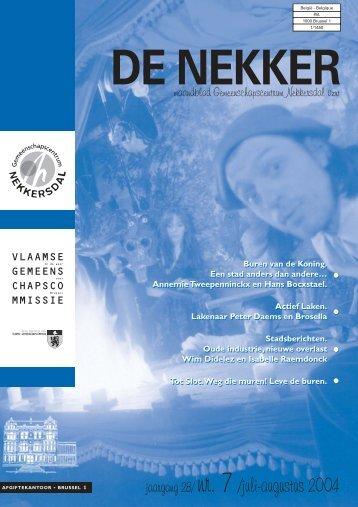 201007151358_De Nekker juli 2004.pdf - Laken-Ingezoomd.be