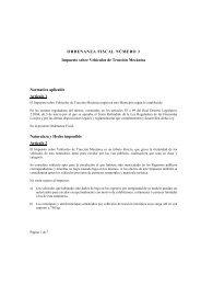 Impuesto Sobre Vehículos de Tracción Mecánica 2009