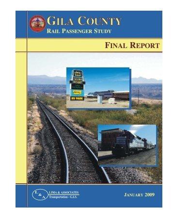 Rail Study - Gila County