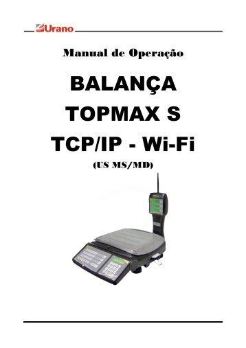 BALANÇA TOPMAX S TCP/IP - Wi-Fi - Urano