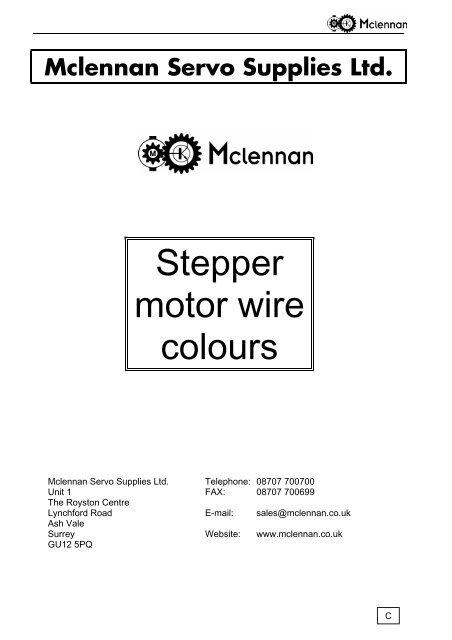 Awe Inspiring Stepper Wiring 101 Cranwise Assnl