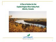 A Plan of Action for the Capital Region River Valley Park Alberta ...